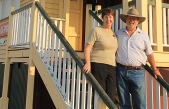 Pete and Lorraine, Home Hill (Qld)