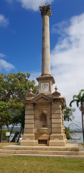 Cooktown - James Cook Monument – commemorates Cook's landing on 17th June 1770. (Qld)