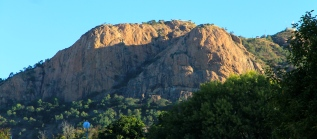 Townsville - The Saint Is Still Visible On Castle Hill (Qld)