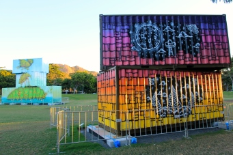 "Townsville - The Strand Art Installation ""Uncontained"" (Qld)"
