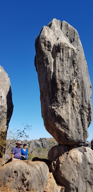 Chillagoe - Limestone Karst - Balancing Rock (Qld)