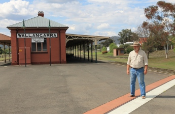 Wallangarra Railway Station - Straddling The Border (Qld - NSW)
