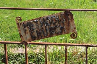 Derby - Old Gate Sign (Tas)