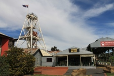 Bendigo - Central Deborah Gold Mine and Tram Stop (Vic)