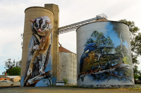 Rochester - Painted Silos (Vic)
