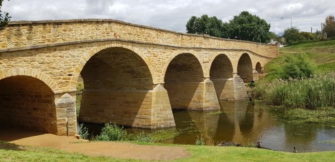 Richmond - Richmond Bridge is the oldest stone span bridge in Australia (Tas)