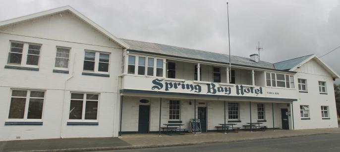 Triabunna - Spring Bay Hotel (Tas)