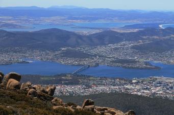 kunanyi/Mt Wellington Summit - Views Of Hobart (Tas)