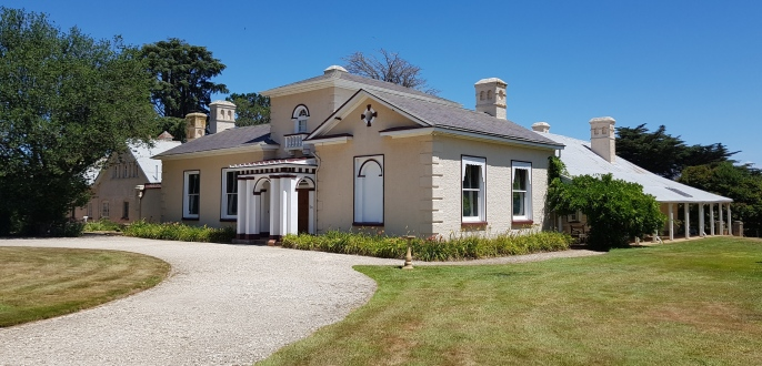 Longford - Woolmers Estate - The 1840s Italianate Modifications (Tas)