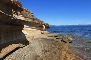 Maria Island - Painted Cliffs (Tas)