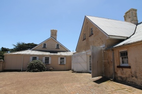 Longford - Woolmers Estate - Kitchen Wing and Courtyard, 1820, 1845 (Tas)