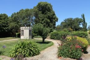 Longford - Woolmers Estate - The 1840s Italianate Modifications - Smoke House (Tas)