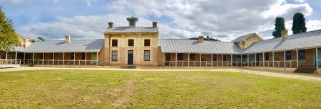 "New Norfolk - ""The Barracks - Australia's First Purpose Built Mental Institution (Tas)"
