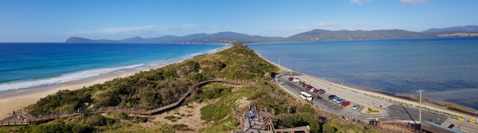 Bruny Island - Bruny Island Neck Reserve From The Truganini Lookout (Tas)