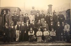 Queenstown - Early Railway Personnel (Tas)