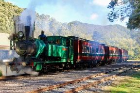 Queenstown - The West Coast Wilderness Railway (Tas)