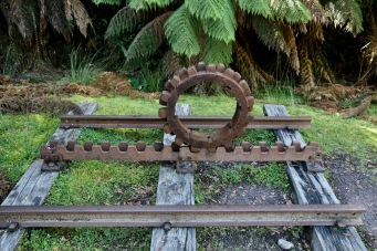 Queenstown - The West Coast Wilderness Railway - Abt Rack and Pinion System (Tas)