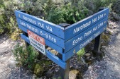 """Cradle Mountain - Lake St Clair National Park - """"Hmm, which way to go?""""(Tas)"""