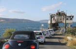 Roberts Point - Queueing For The Return Trip To Kettering (Tas)