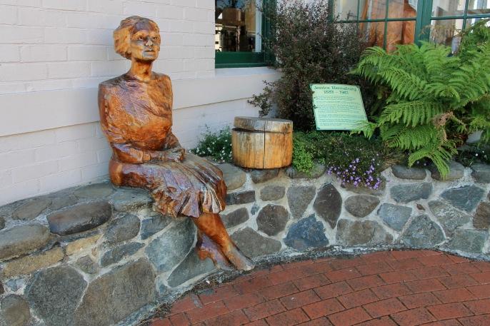 Geeveston - Wooden Sculpture (Tas)