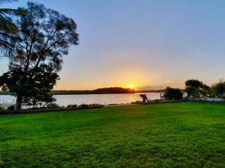 Ballina - Sunset At Ros and Deans (NSW)